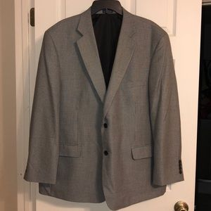 Stafford essentials sport coat Sz 48R